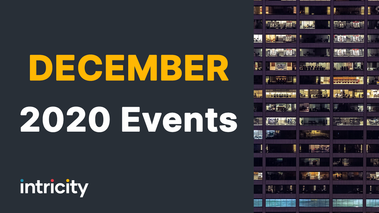 Don't miss our upcoming events for December