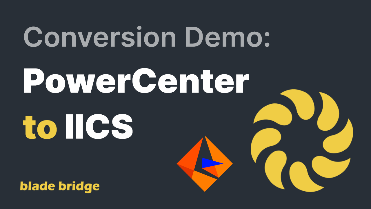 BB Conversion Demo PC to IICS