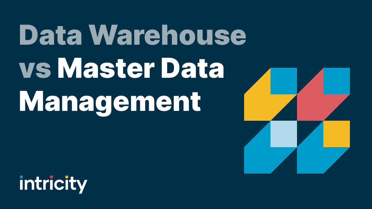 Data Warehouse vs Master Data Management