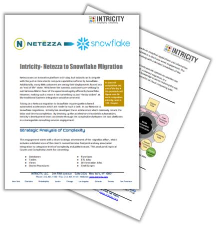 Case Study: Netezza Migration