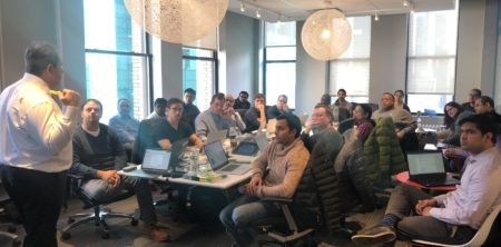 SNOWFLAKE HOSTS ARKADY FOR A WORKSHOP IN NYC