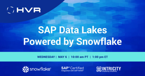 Join Us For Upcoming Webinar: SAP Data Lakes Powered by Snowflake - INTRICITY