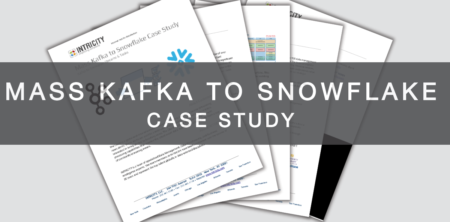 Mass Kafka to Snowflake Case Study - INTRICITY
