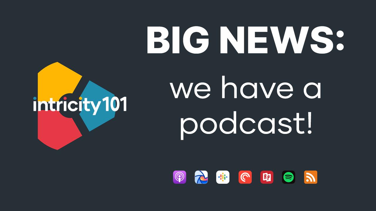 Intricity101 Podcast Promo