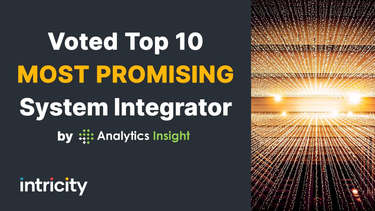 Voted Top 10 System Integrator