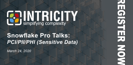 Upcoming Snowflake Pro Talks Webinar: PCI/PII/PHI (Sensitive Data)