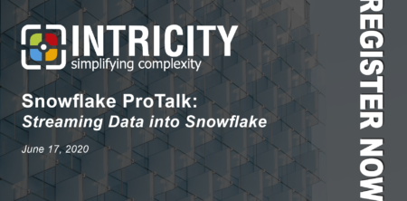 Register Now for June Snowflake ProTalk - INTRICITY